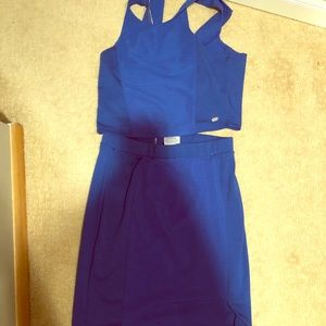 BUNDLE ALERT! 2 piece Skirt/crop top set